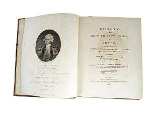 BOOK HISTORY OF THE BRITISH EXPEDITION TO EGYPT