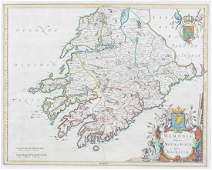 LATE 16TH-CENTURY MAP OF MUNSTER