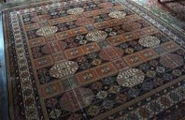 LARGE PERSIAN STYLE AXMINSTER CARPET