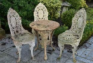 VICTORIAN CAST IRON TABLE