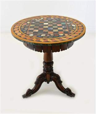 WILLIAM IV GRAND TOUR ROSEWOOD TABLE