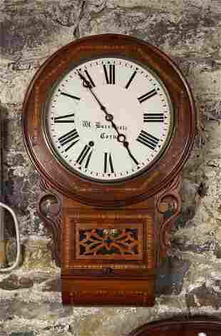 ANGLO-AMERICAN DROP DIAL WALL CLOCK