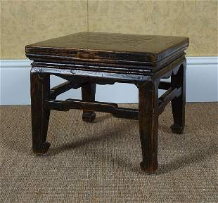 18TH-CENTURY CHINESE LOW TABLE
