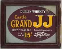 DUBLIN WHISKEY ORIGINAL POSTER