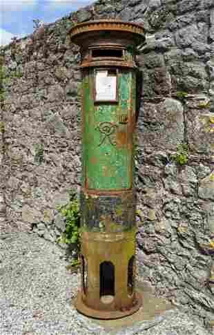 ORIGINAL IRISH POST AND TELEGRAPH PILLAR