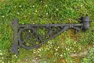 19TH-CENTURY CAST IRON BRACKET