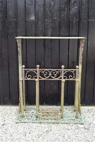 CAST IRON COMBINATION BOOT STAND