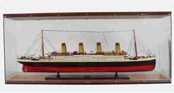 LARGE MODEL STEAM SHIP