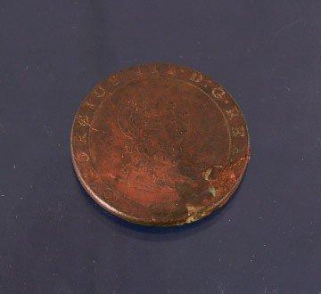 7: George III penny, 1797