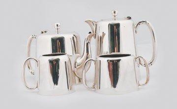 607: Four piece Hotel ware tea and coffee service