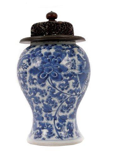 1379: Chinese blue and white vase