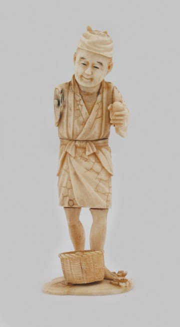 1251: Japanese ivory figure