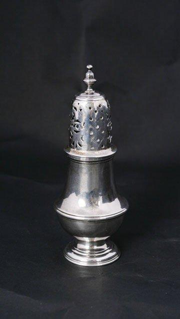224: George II Irish silver caster