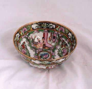 621: Chinese Famille Verte bowl