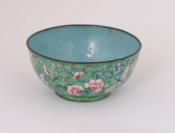 623: Qianlong period cloisonne bowl