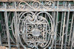 4: Edwardian metal railing