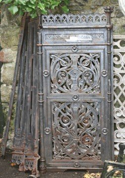 12: Victorian cast iron decorative radiator covers