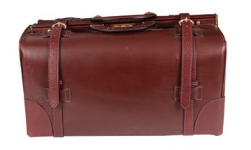 411: Cartier leather valise