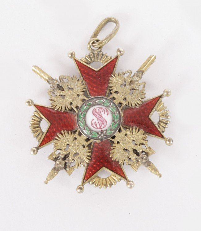 559: Gilt and enamelled fraternity medal