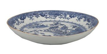 1255: Kanxi blue and white dish