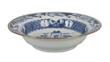 1256: Kanxi blue and white dish