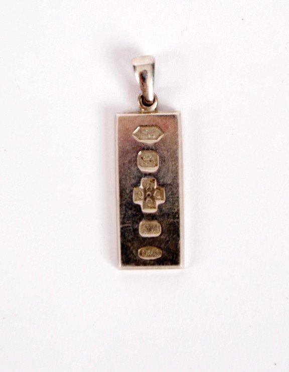 3: Silver pendant