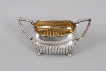 767: Silver sugar bowl