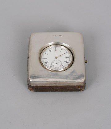 768: Silver watch case