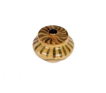 1504: Chinese Yuan Dynasty Yannan Yuxi kilnlidded bowl