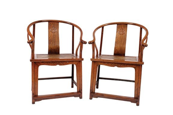 1631: Pair eighteenth/nineteenth-century Chinese Zitan