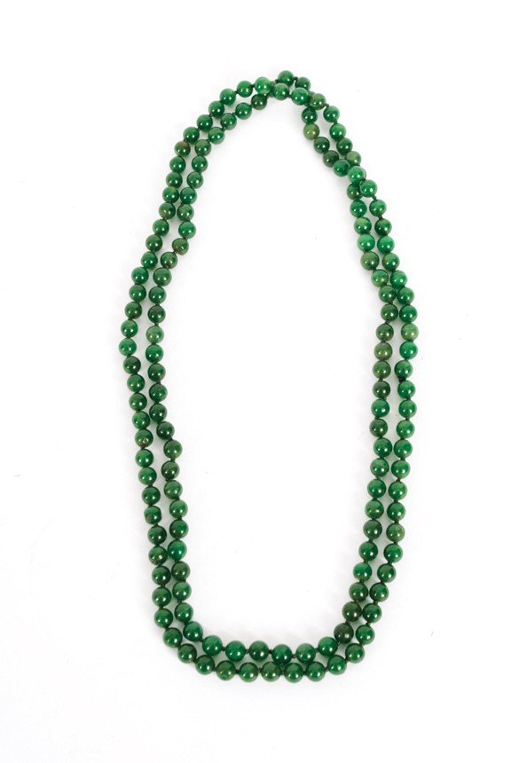 1944: Chinese jade necklace