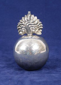 759: Silver paper weight