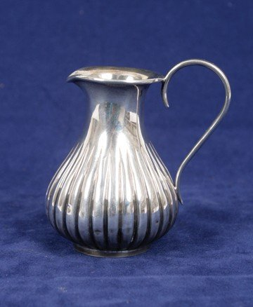 763: Early Victorian silver jug