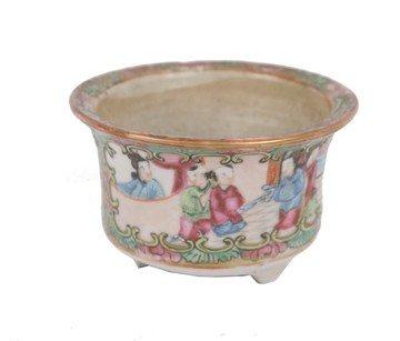 1504: Nineteenth-century Chinese famille rose miniature