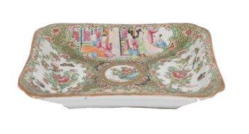 1505: Eighteenth-century Chinese famille rose dish