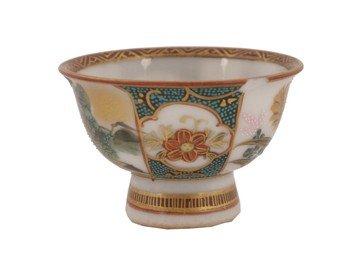 1507: Nineteenth-century Japanese Satsuma sake cup
