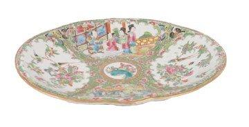 1509: Eighteenth-century Chinese famille rose dish