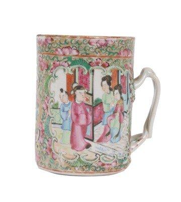 1514: Chinese eighteenth-century famille rose mug