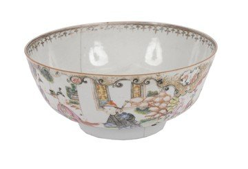 1519: Eighteenth-century Chinese famille rose bowl