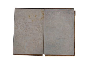 1522: Chinese carved panelled booklet