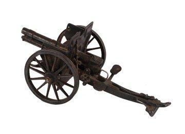 18: Antique model canon