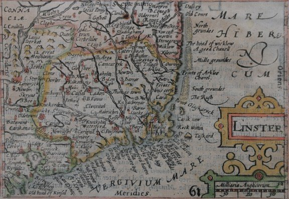 23: Early map of Leinster