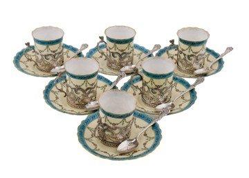Worcester coffee set