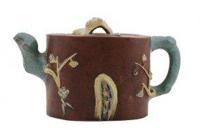 Chinese nineteenth-century Yixing teapot