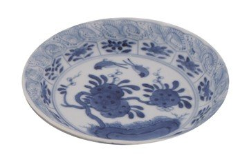 Pair of antique eighteenth-century Quing dynasty Kangxi