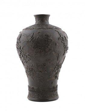 Large Nineteenth-century Chinese Cantonese Polychrome V