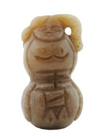 Chinese Qing Dynasty Gourd Shaped Carving