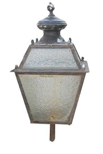 4: Victorian ornate brass double arm wall light