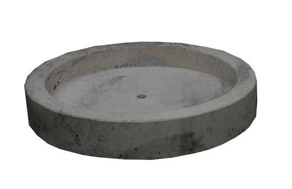 5: Italian limestone circular trough
