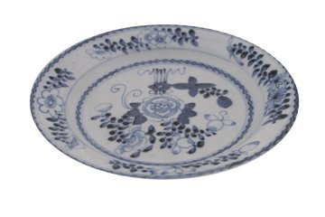 630: Chinese Tiangi period blue and white plate